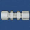 Tube And Hose Bulkhead Union Fitting -- 61057 - Image