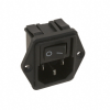 Power Entry Connectors - Inlets, Outlets, Modules -- CCM1666-ND -Image