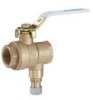 Combination Ball Valve and Relief Valve -- LFBRVM1 -Image