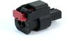Molex 34900-2120 MXP120 Sealed 2 Circuit Female Receptacle, Key A -- 38571 -Image