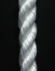 Twisted Polypropylene: White or Black Rope -- 21036