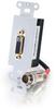 RapidRun® Digital DVI-D? Active Wall Plate - White -- 2212-42428-001