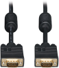 VGA Coax Monitor Cable, High Resolution cable with RGB coax (HD15 M/M) 30-ft. -- P502-030