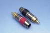 RCA Plug, 7MM Solderless PR -- ZE07