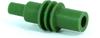 Delphi 12010300 1-Way Cable Cavity Plug Seal, Round, Green -- 39010 -Image