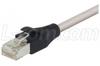 Shielded Cat 6 Cable, RJ45 / RJ45 PVC Jacket, Gray 80.0 ft -- TRD695SCR-80 -Image