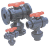 Series 23 Multi-Port Ball Valve -- 23-040-2510-DL