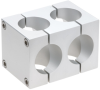 Aluminum Tube Connectors -- Quad® Solid Clamps