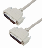 Deluxe Molded D-Sub Cable, HD78 Male/Male, 5.0 ft -- HAD00008-5F -Image