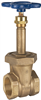 Gate Valve – Bronze, Rising Stem, Union Bonnet, Threaded -- T-134