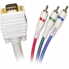 Steren 253-512IV 12' VGA To RGB Video Cable -- 253-512IV