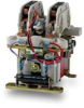 Cam Contactor for Battery Voltages -- C152 A02-S-60NX-G3 - Image