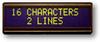LCD Character Display Module -- ASI-G-162AS-LJ-EYS/W - Image