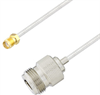 N Female to SMA Female Cable Assembly using LC085TB Coax, 1 FT -- LCCA30549-FT1 -- View Larger Image