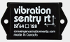 Vibration Meter Data Logger -- Vibration Sentry RT64-16g