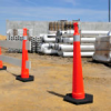 Custom Blow Molded Barricades and Highway Markers -- View Larger Image