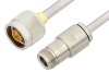 N Male to N Female Cable 36 Inch Length Using PE-SR401AL Coax , LF Solder -- PE3988LF-36 -- View Larger Image
