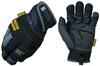 Mechanix Wear MCW-WA Black 11 Nylon Mechanic's Gloves - EVA Foam/Rubber Palm & Over Knuckles Coating - 781513-61829 -- 781513-61829
