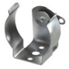 Rivet Mount AA Cell Clip-Insulated Contact -- 100 - Image