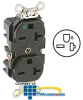 Leviton Back and Side Wired Duplex Receptacle -- 8400