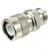 N Female (Jack) to C Male (Plug) Adapter, High Temp, 1.25 VSWR -- SM4628