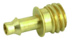 Brass Barb Fitting -- 12841