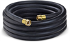 Black 150 PSI Contractor's Water Hose Coupled Assembly -- REDIWASH-062X50