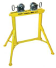 Pipe Stand,SS Wheel,36 In,2000 Lb Cap -- 19F628