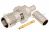 TNC Female Connector Crimp/Solder Attachment For RG58 -- PE4458