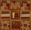 Contemporary Patch Chenille Fabric -- R-Starwood -- View Larger Image
