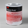 3M 1300L Neoprene High Performance Rubber and Gasket Adhesive Yellow 1 gal Can -- 1300L 1 GALLON CONTAINER -Image