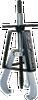 Posi-Lock 116 40 Ton Three Jaw Puller -- POS116