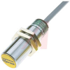 Sensor, Inductive; M12 x 1; 10 to 30 VDC; 200 mA (Max.); Shielded; Brass -- 70034969 - Image