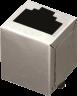 Shielded, Single Port, THRu Hole, Top Entry Modular Jack -- AJT74b8813
