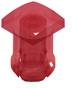 T-1 3/4 Lens Cap-Red -- 8686 - Image