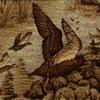 Ducks in Flight Fabric -- R-Marsh -- View Larger Image