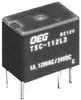 TE CONNECTIVITY / OEG - TSC-112L3H - SIGNAL RELAY, SPDT, 12VDC, 1A, THD -- 291580