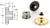 Metal & Plastic Ladder Chain Sprockets (inch) -- A 6B 8-1706 - Image