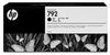 792 Latex Designjet Ink Cartridges for L26500/L28500- Black -- CN705A