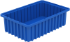 Divider, Akro-Grid Divider Box 16-1/2 x 10-7/8 x 5 -- 33165BLUE - Image