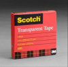 3M Scotch 600 Clear Box Sealing Tape - 3/4 in Width x 72 yd Length - 2.3 mil Thick - 06943 -- 021200-06943