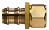 Brass Push-on Fitting - Female Pipe -Image