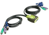 IOGEAR MiniView Micro KVM Switch GCS62 -- GCS62