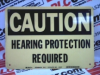 EAR PROTECTION SIGN (22407) -- 22407