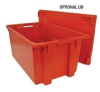 Stack And Nest Container Lids -- HFBD2416S-YL -Image