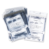 Clear Dual Deposit Bags, Tamper Evident, Plastic, 11 x 15, 1 -- PMF-58008