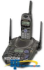 Panasonic 2 Line 2.4 GHz GigaRange Cordless Phone with.. -- KX-TG2593