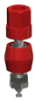 Hex Head Binding Post 10-32 Thread Red -- 4093