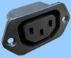 IEC 60320 Sheet F Screw Mount Power Outlet -- 83030600