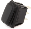 Waterproof Rectangle Rocker Switch 44121, On-Off-On, SPDT, 3 Contacts -- 44121 -Image